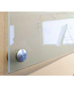 papan tulis kaca frameless