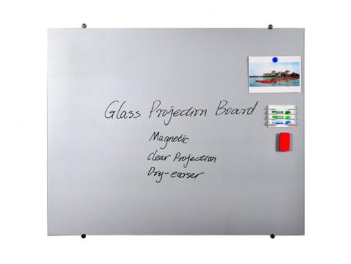 papan tulis kaca frameless magnetic